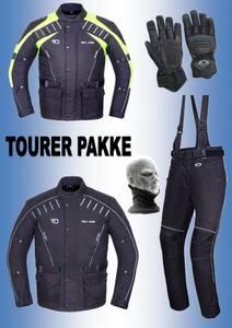 Bilde av   TOURER PAKKE  jakke,bukse,hansker, halsvarmere