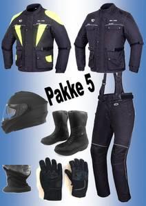 Bilde av    PAKKE 5:Full pakke: jakke,bukse,hjelm,støvler,hansker,halsvar