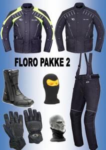 Bilde av  FLORO PAKKE 2  jakke,bukse,støvler,hansker, halsvarmere